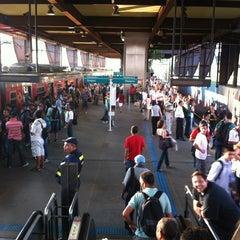 Photo taken at Estação Santo Amaro (CPTM) by Jairo A. on 2/28/2012