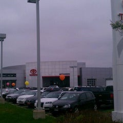 Photo taken at Grossinger Toyota North by Miles D. on 3/31/2012