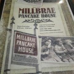 Photo taken at Millbrae Pancake House by Vivien L. on 1/1/2012