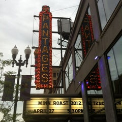 Photo taken at Pantages Theatre by Phil R. on 4/28/2012