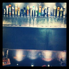 Photo taken at Global Brew Tap House & Lounge by Lars V. on 6/9/2012