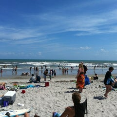 Photo taken at Cocoa Beach by Jonny S. on 3/20/2012