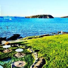 Photo taken at Bar Harbor Inn by Lisa B. on 4/28/2012