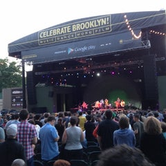 Photo taken at Celebrate Brooklyn!/Prospect Park Bandshell by Citlalic J. on 6/17/2012