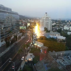 Photo taken at Mondrian Hotel by Mike D. on 8/5/2012