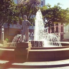 Photo taken at Plaza De Armas by Jeniferv on 3/11/2012