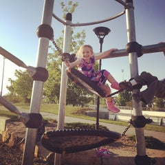 Photo taken at Fossil Creek Park by Dwayne W. on 5/14/2012