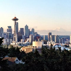 Photo taken at Kerry Park by Carl T. on 7/24/2012