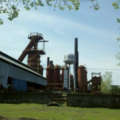Photo taken at Sloss Furnaces National Historic Landmark by Josh S. on 3/19/2012