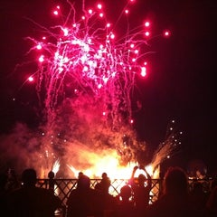 Photo taken at IllumiNations: Reflections of Earth by Michele B. on 9/3/2012