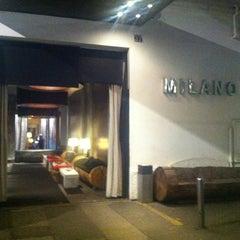 Photo taken at Milano Lounge Cafè by barbie on 2/24/2012