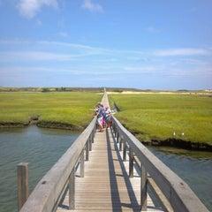 Photo taken at Town Neck Beach / Boardwalk by Jack N. on 8/15/2012