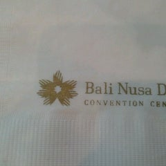 Photo taken at Bali Nusa Dua Convention Center (BNDCC) by Anggi G. on 7/3/2012