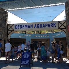 Photo taken at Dedeman Aquapark by Hasan K. on 8/29/2012