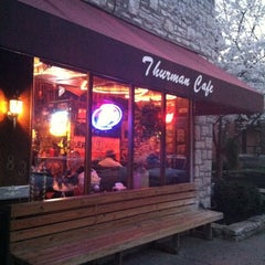 Photo taken at The Thurman Cafe by Eric A. on 3/19/2012