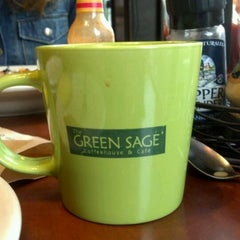 Photo taken at The Green Sage Coffeehouse & Cafe by Bill E. on 5/13/2012