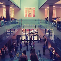 Photo taken at Apple Store, SoHo by Aleks I. on 7/15/2012