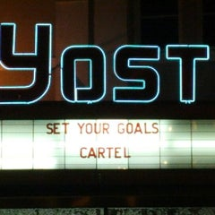 Photo taken at The Yost Theater by Josh T. on 3/26/2012