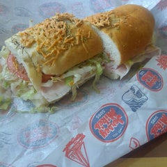 Photo taken at Jersey Mike's Subs by Justin G. on 9/13/2012