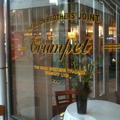 Photo taken at Crumpet by J W. on 5/3/2012