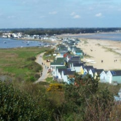 Photo taken at Hengistbury Head by Gordon F. on 5/8/2012
