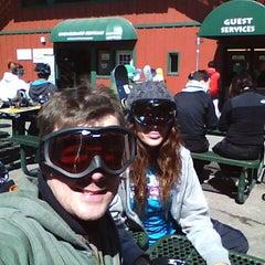 Photo taken at Bear Mountain Ski Resort by Shawn A. on 3/10/2012