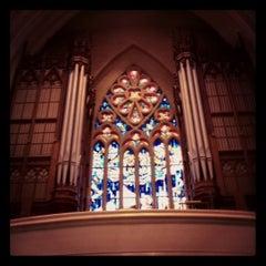 Photo taken at Saint Cecilia Church by Tessa R. on 2/6/2012