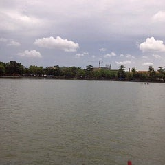 Photo taken at Kampung betawi situ babakan by Dian leman on 1/15/2012