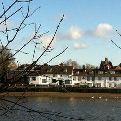 Photo taken at Kew Railway Bridge by Andrew R. on 2/19/2012