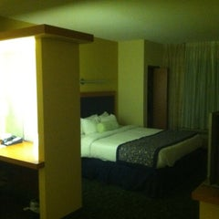Photo taken at Marriott SpringHill Suites by Alexander L. on 4/9/2012