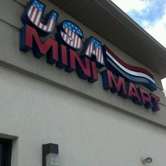 Photo taken at USA Mini Mart by Nancy L. on 6/13/2012