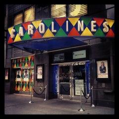 Photo taken at Carolines on Broadway by caroline c. on 6/5/2012