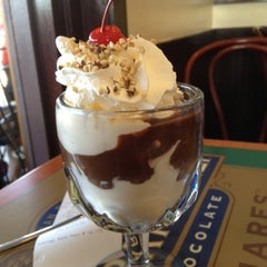 Photo taken at Ghirardelli Soda Fountain & Chocolate Shop by Mark on 5/2/2012