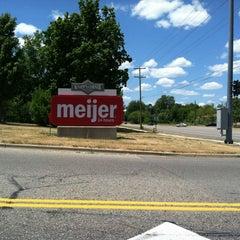 Photo taken at Meijer by Julie G. on 7/10/2012