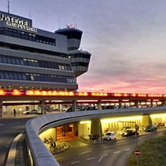 Photo taken at Flughafen Berlin-Tegel Otto Lilienthal by Thomas W. on 8/24/2012