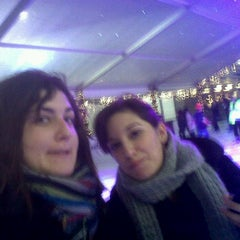 Photo taken at Ice Rink by Victoria B. on 12/19/2011