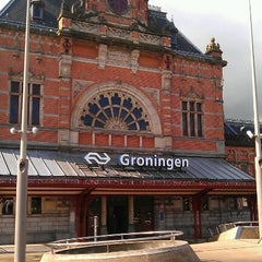 Photo taken at Station Groningen by Fundament A. on 7/17/2012