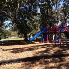Photo taken at Warren Park by Ursula P. on 11/12/2011