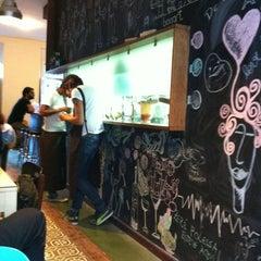 Photo taken at Bogart Café by Leo T. on 11/8/2011