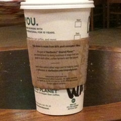 Photo taken at Starbucks by Crystal T. on 2/13/2011