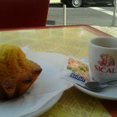 Photo taken at Café Sical by Andrea S. on 3/1/2012