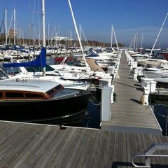 Photo taken at McKinley Marina Center Docks by Jim B. on 10/12/2011