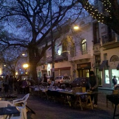 Photo taken at Plaza Dorrego by Yania T. on 5/19/2012