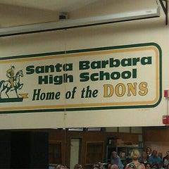 Photo taken at Santa Barbara High School by Cuca A. on 10/6/2011