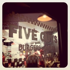 Photo taken at Five Guys by Andy on 6/15/2011