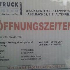 Photo taken at Truck Center Katzinger by Günter H. on 10/13/2011