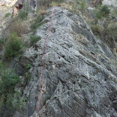 Photo taken at Barranco de la Higuerica by Antonio A. on 10/12/2011