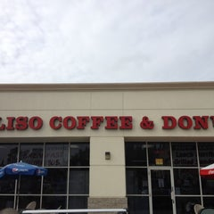 Photo taken at Aliso Coffee and Donut by Derek S. on 1/22/2012