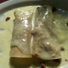Photo taken at Ameca Mexican by Morgan M. on 8/1/2011