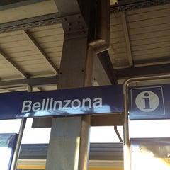 Photo taken at Bellinzona FFS by Jeongyoon H. on 11/25/2011